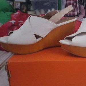 Lucky brand wedge heel shoes